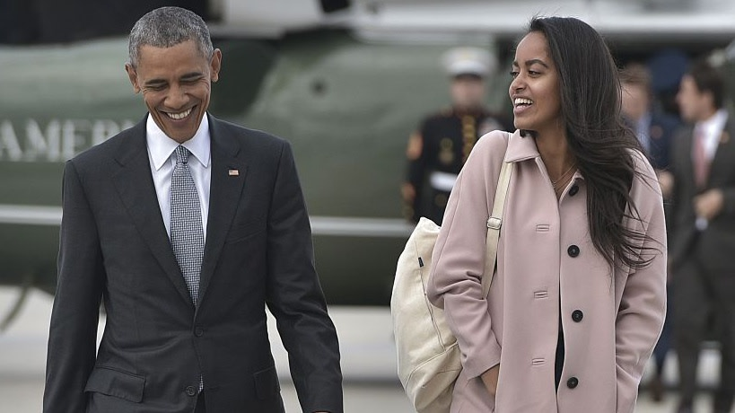 Barack Obama Is Also Teaching Malia's Boyfriend, Who's Quarantining With The Former First Family, How To Play Spades
