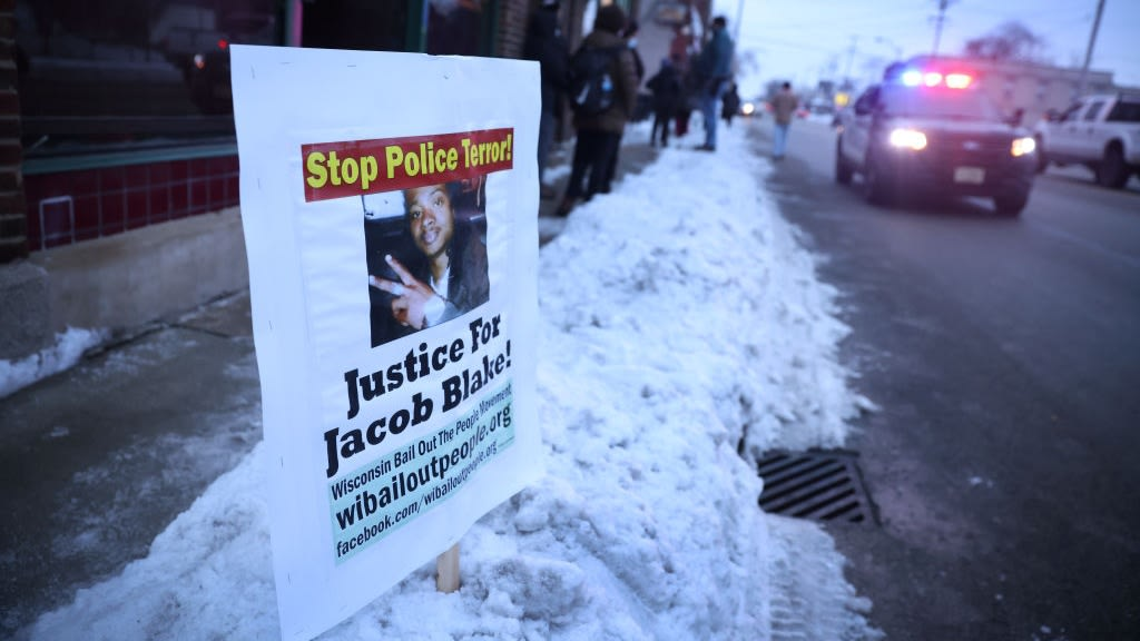 Cop Who Shot Jacob Blake 7 Times In His Back Won't Face Charges