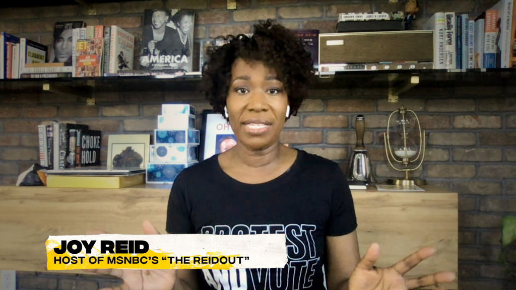 Joy Reid Says People Would Be 'Shackled, Arrested En Masse Or Dead' If Capitol Hill Riot Was BLM Protest
