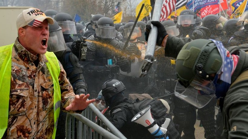 Violent Scene On Capitol Hill Leads To Suspicions About Officers Who Allegedly Aided Rioters