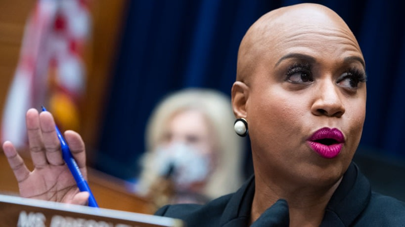 Ayanna Pressley Shuts Down Troll Who Said She Needs To Wear Weave