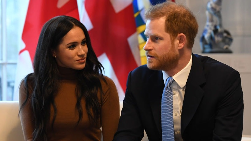 Stripped Of Royal Titles, Meghan Markle And Prince Harry Commit To 'Life Of Service'