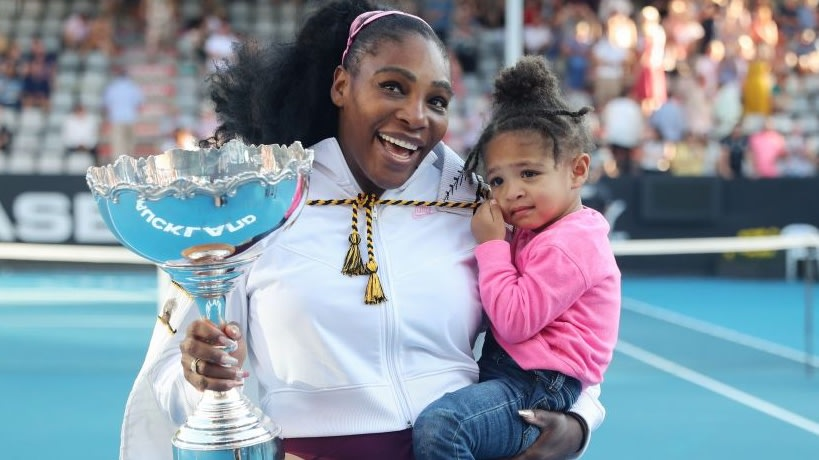 Serena Williams And Her 'Mini Me' Olympia Are Too Cute In Their First Ever Fashion Campaign Together
