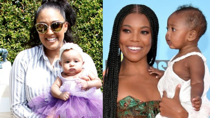 Internet Aunties Rejoice After Tia Mowry's And Gabrielle Union's Daughters Have Playdate