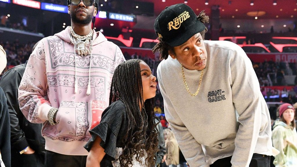 Blue Ivy Further Her Cements Icon Status While Recreating Father JAY-Z's 2013 Photo, Celebrating Grammys Win