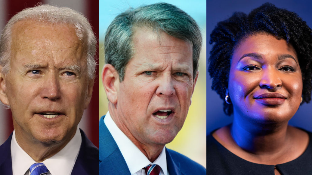 Georgia Gov. Brian Kemp Blaming Everyone But Himself For Outrage Over State's New Voting Restrictions