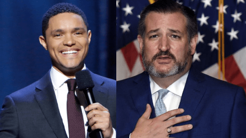 Folks At 'The Daily Show With Trevor Noah' Put Ted Cruz In His Rightful Place On Twitter