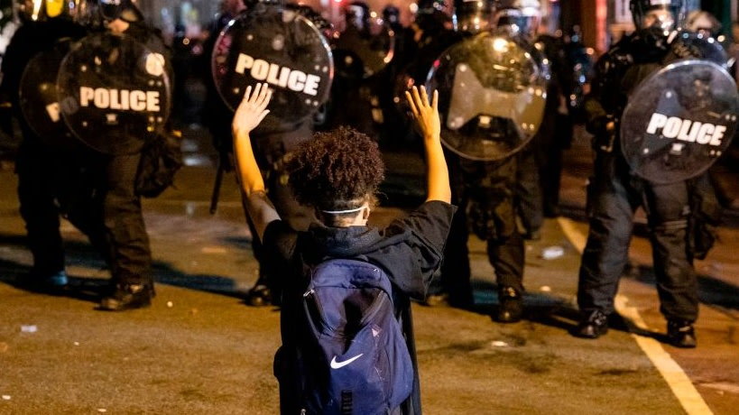 California Police Fired Wall-Penetrating Tactical Projectiles At BLM Protesters Last Summer, Report Reveals
