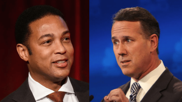 Don Lemon Tears Into Rick Santorum After He Claims America Was Built From 'Nothing'