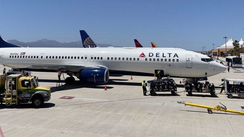 Mother Of Model Who Passed Away, Runs Into Delta Ad Of Her Late Daughter At The Airport