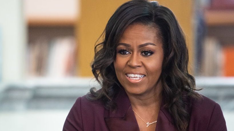 Michelle Obama Says She Still Fearful Of Her Daughters' Safety Amid Prevalent Racism In Country: 'Many Of Us Still Live In Fear'