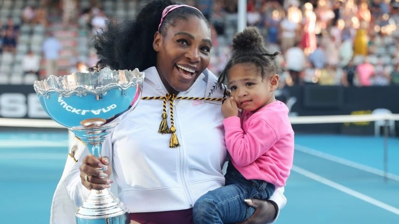 Serena Williams' Daughter Olympia Stunts Like Her Mommy While Recreating Iconic Catsuit