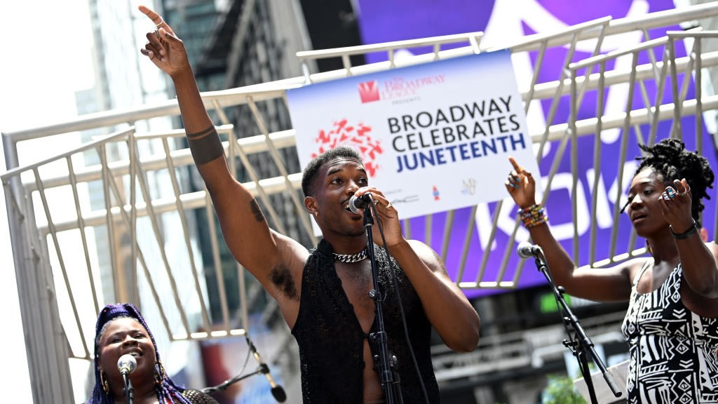 Juneteenth Celebrations Take Place Across America During Its First Year As A Federal Holiday