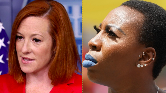 White House Press Secretary Defends Gwen Berry's Seeming Protest At Pan Am Games