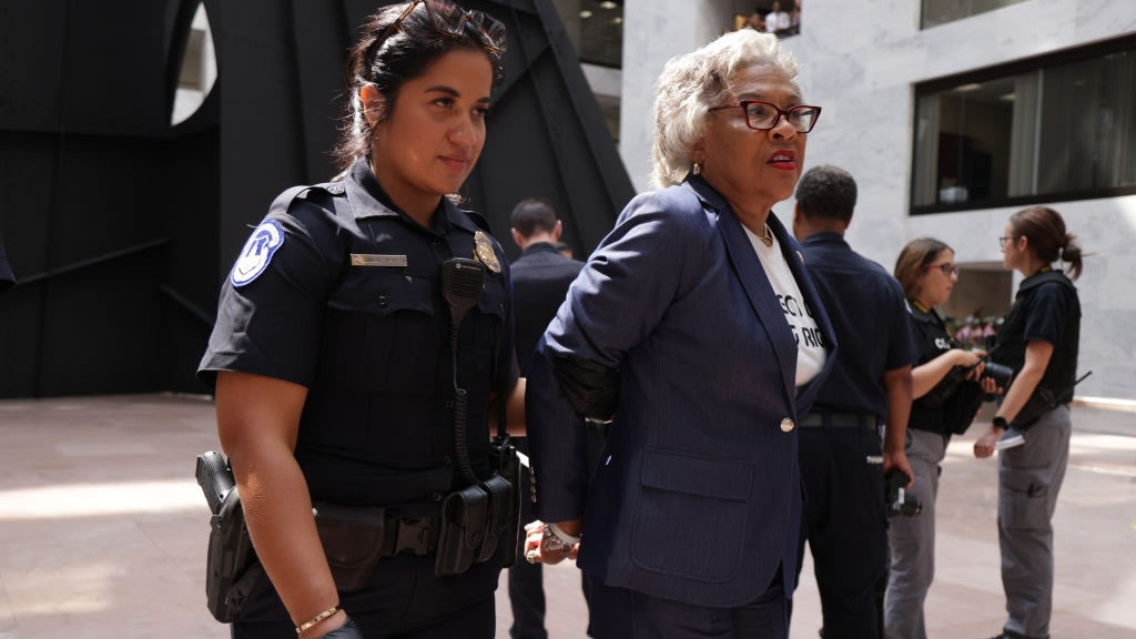 Rep. Joyce Beatty Speaks Out After Being Arrested At U.S. Capitol: 'You Can't Silence Me.'