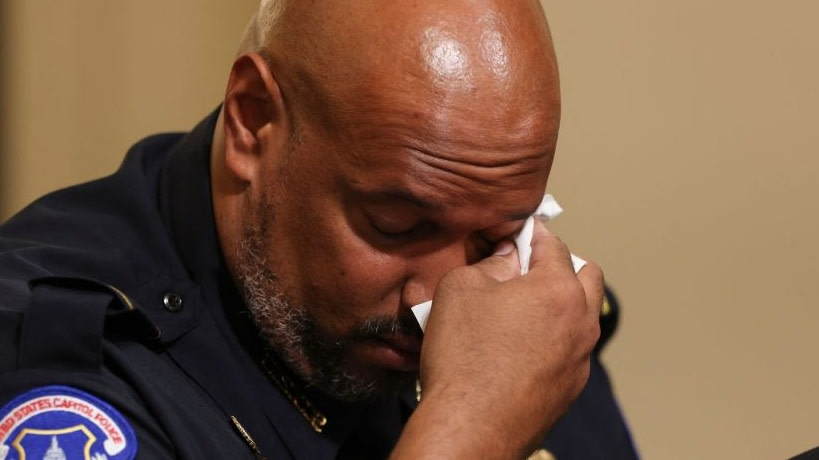 Black Capitol Cop Testifies At Hearing For Jan. 6 Insurrection: 'I Am Now Receiving Private Therapy'
