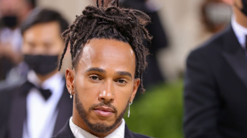 British Race Driver Lewis Hamilton Purchased A Met Gala Table For Up-And-Coming Black Designers