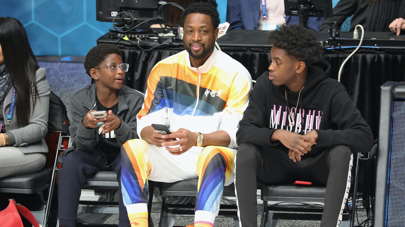 Dwyane Wade's Son, Zaire, Signs G League Contract With Utah Jazz Affiliate Team