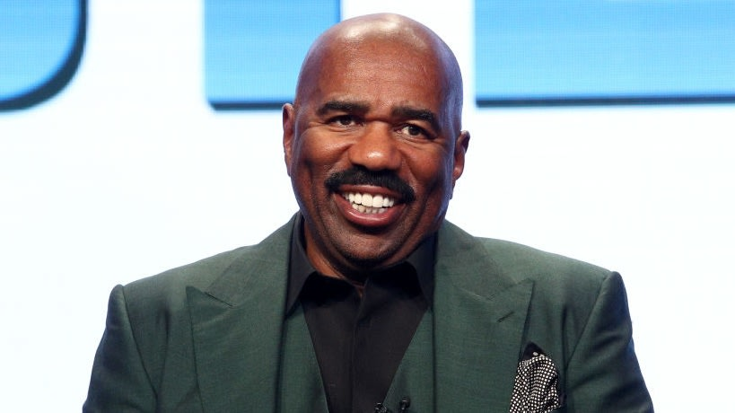 Steve Harvey's Been Hitting The Timeline In Fire 'Fits And Twitter Won't Let Him Live