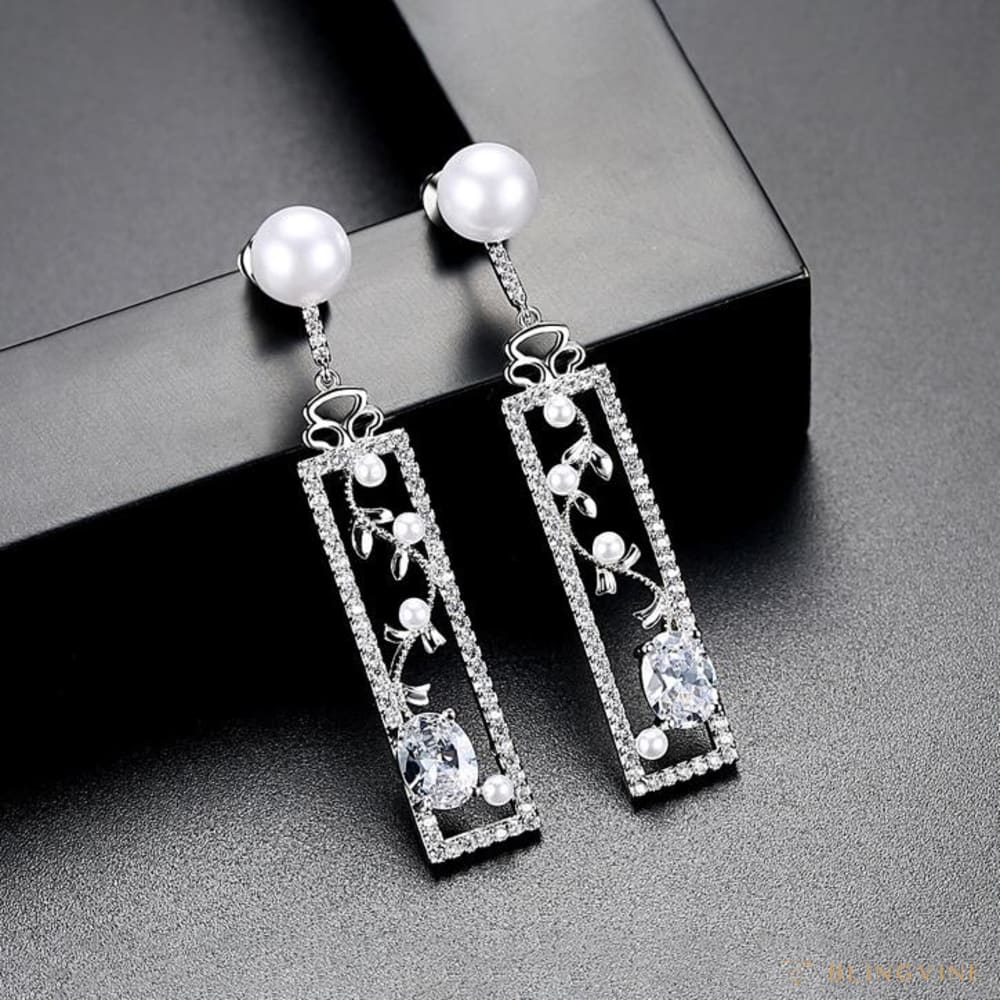 Preet Long Earrings - Blingvine