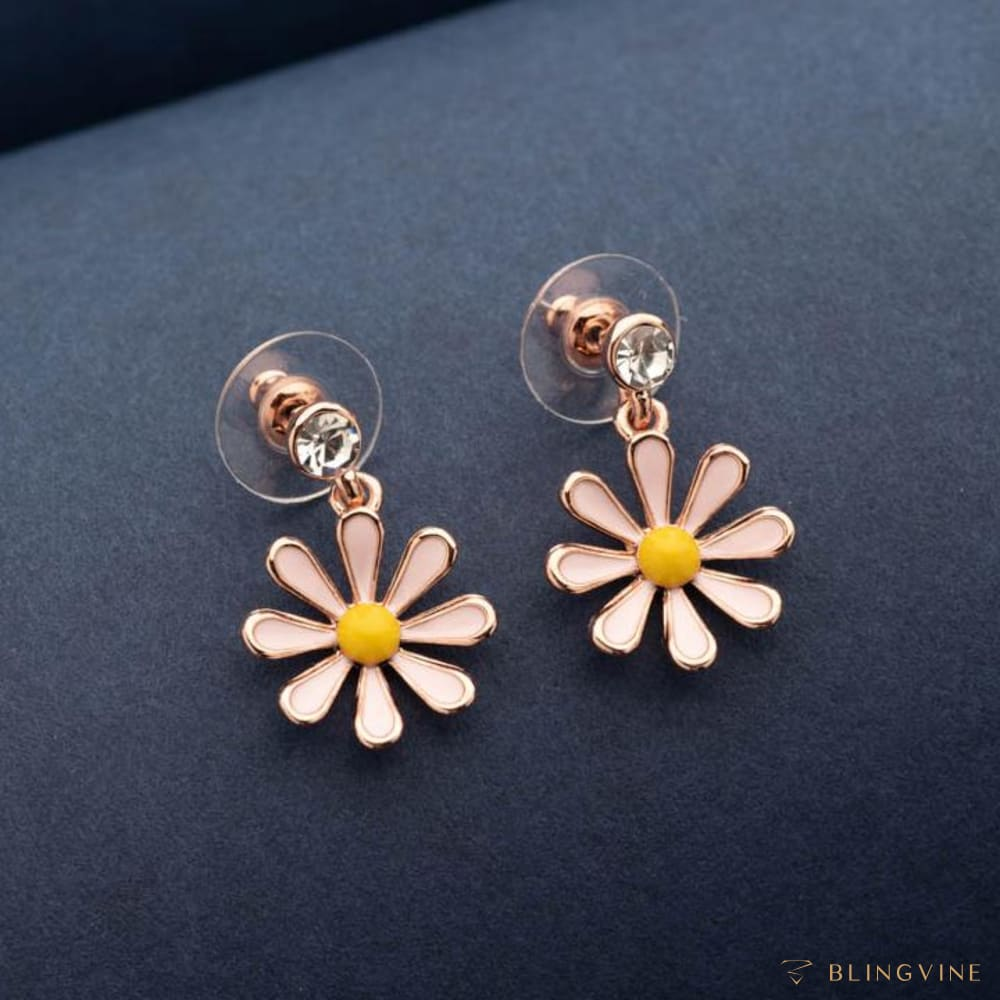 Esme Floral Earrings - Blingvine Jewellery