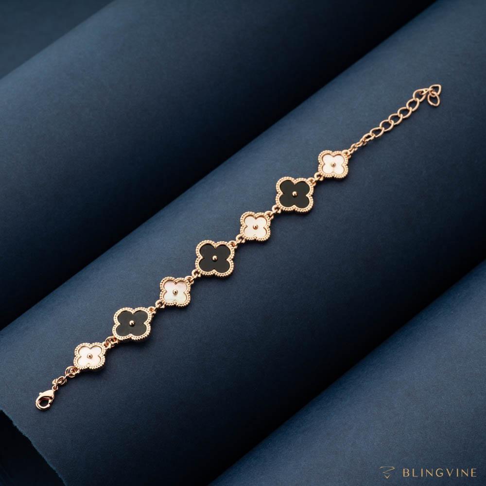 Checkers Chain Bracelet