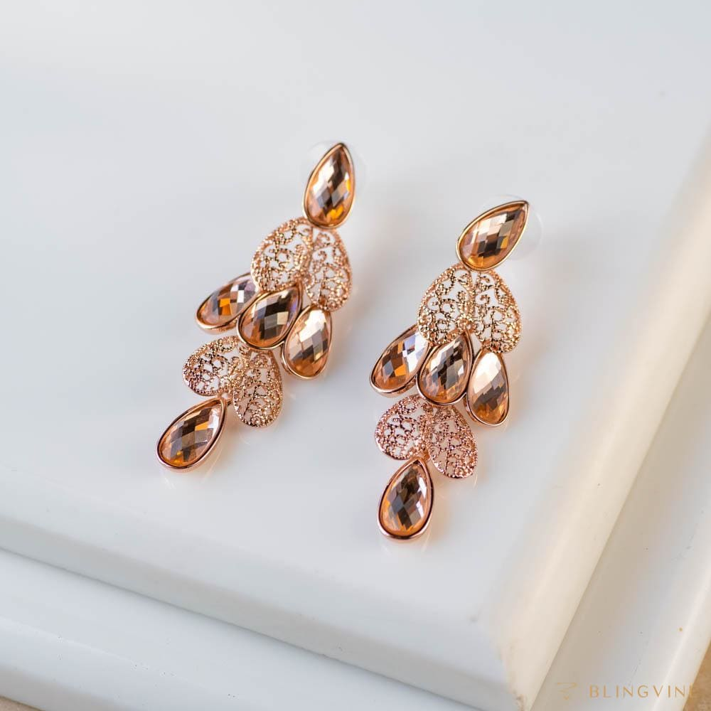 Mastani Long Earrings - Blingvine