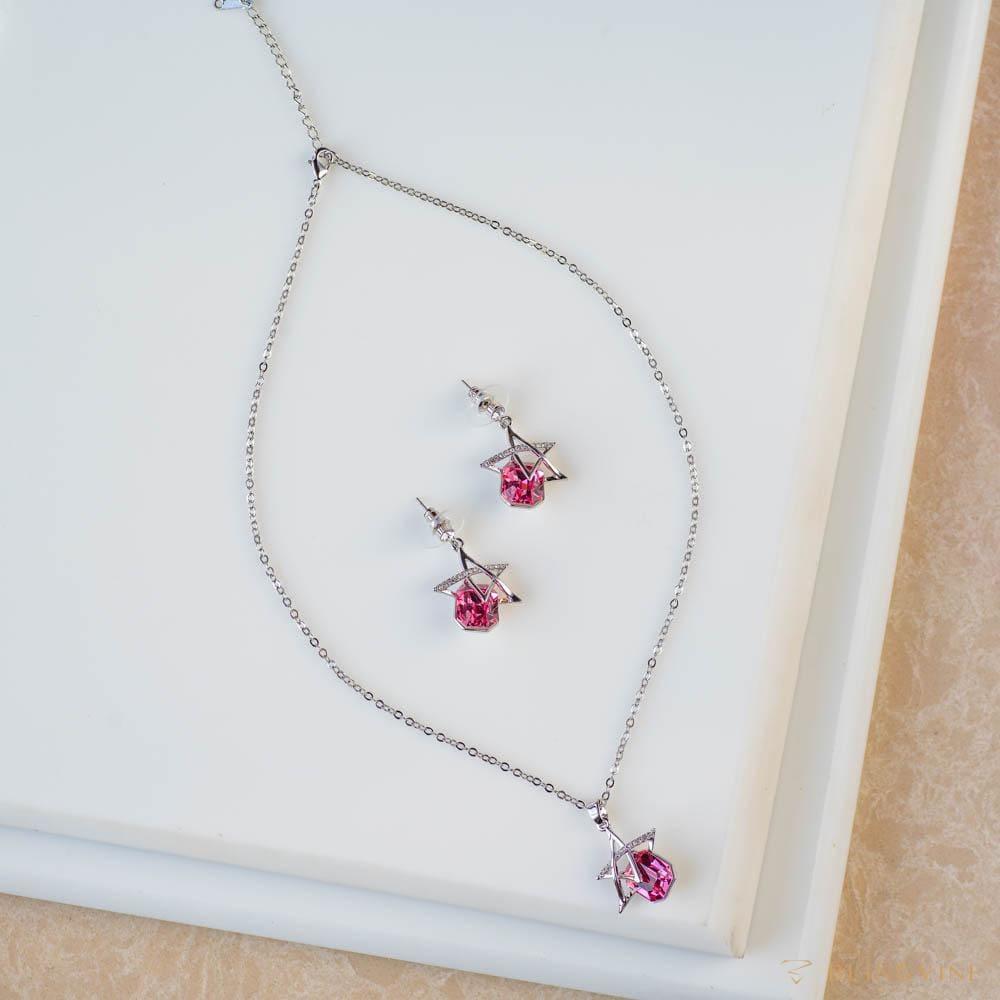 Cute Chaos Pendant Necklace Set