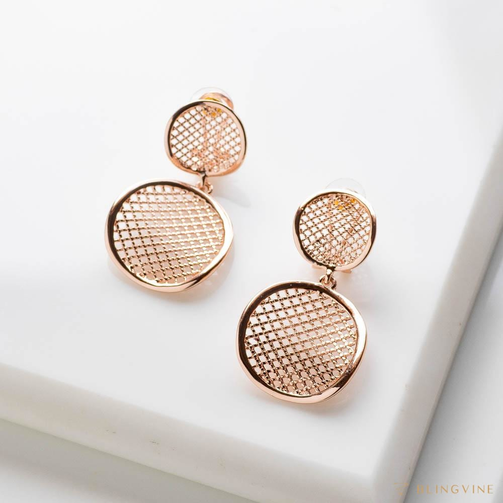 Anna Mesh Dangle Earrings