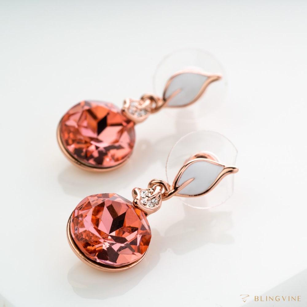 Flames Crystal Earrings