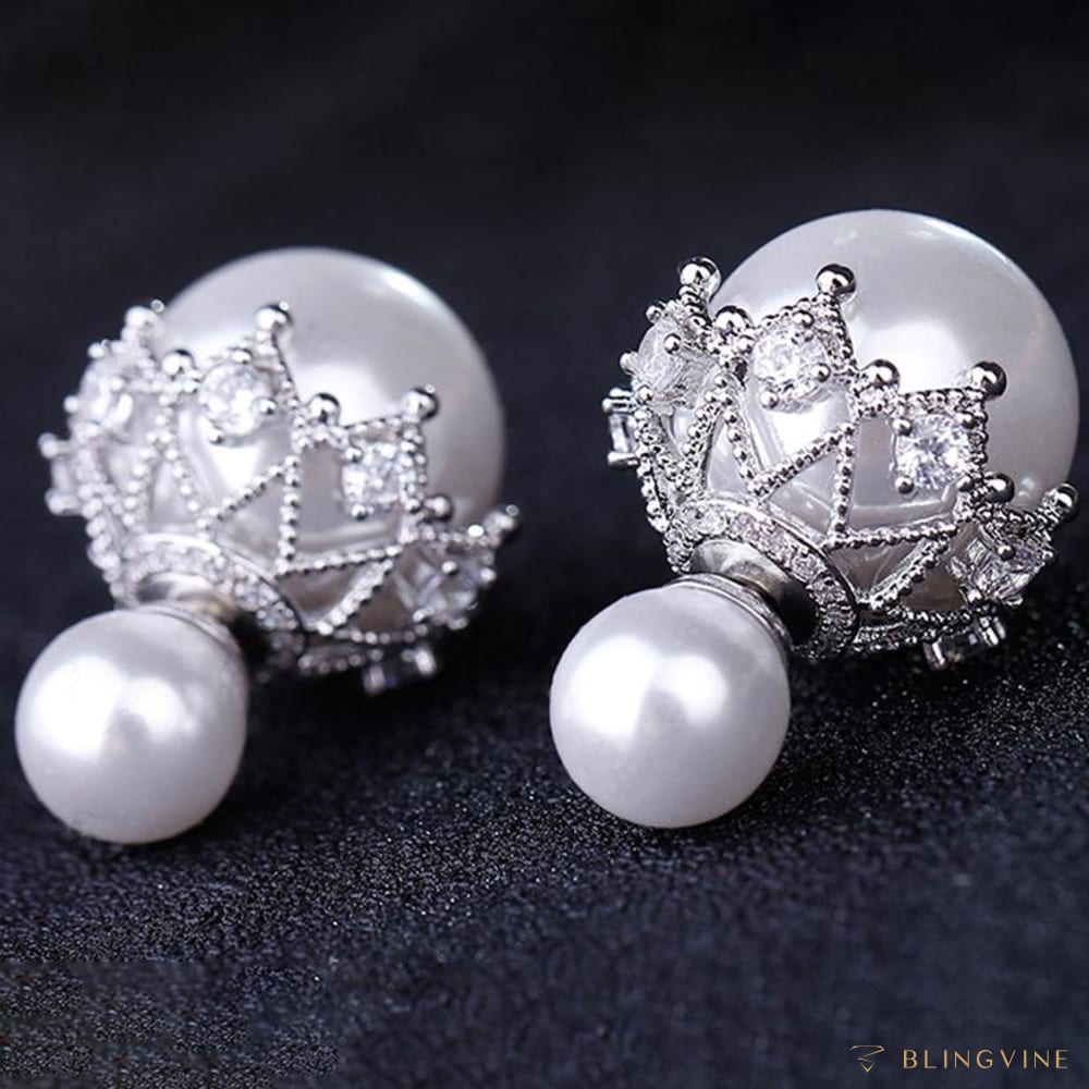 Bubble Pearl Studs