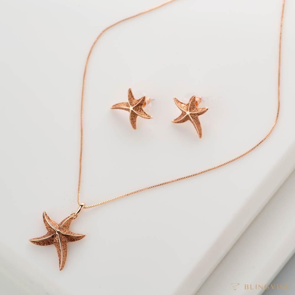 Ariel Pendant Necklace Set