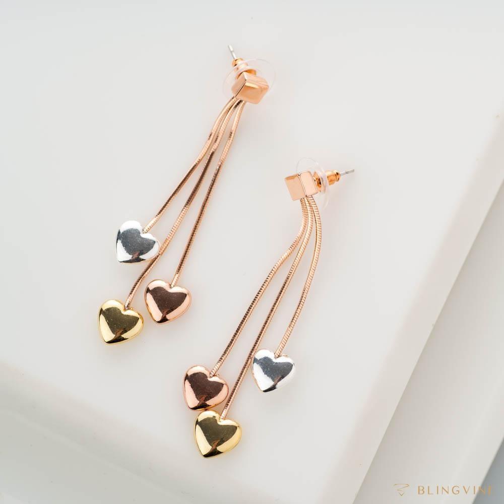 Juliet Heart Danglers