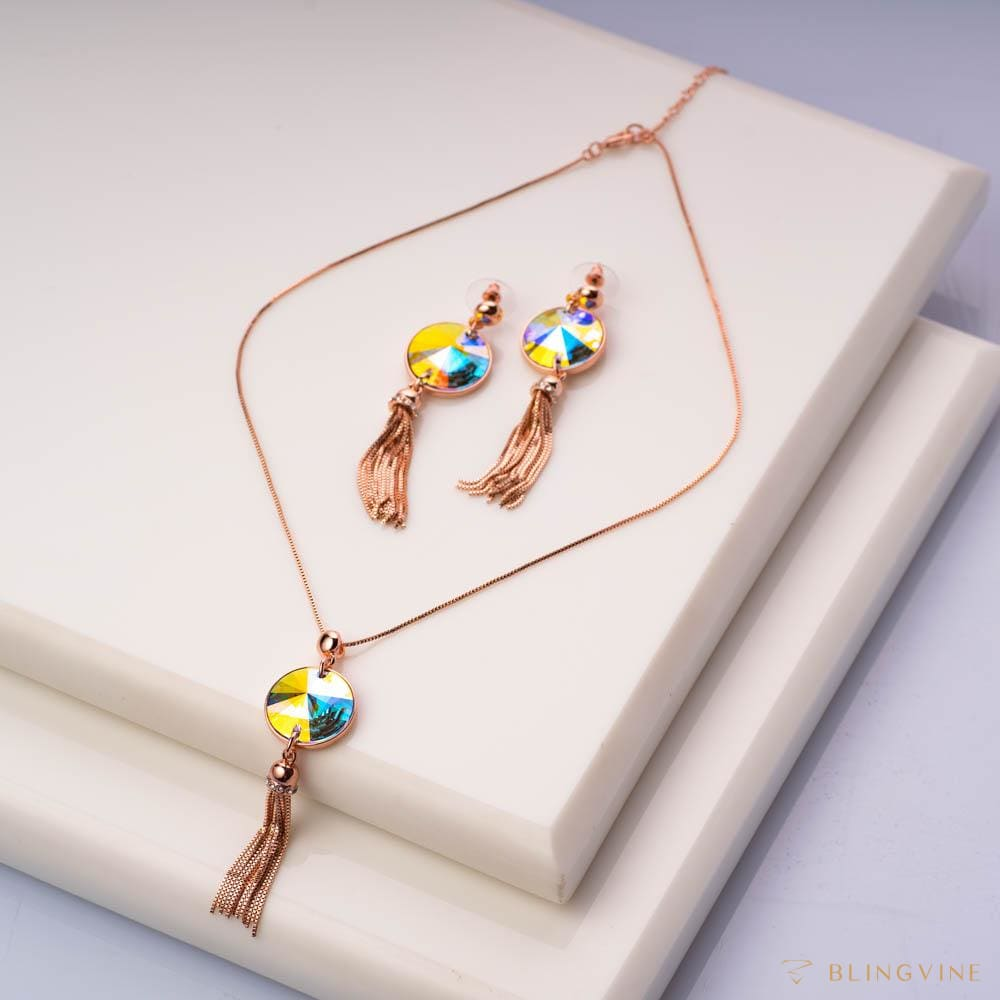 Magical Hues Pendant Set