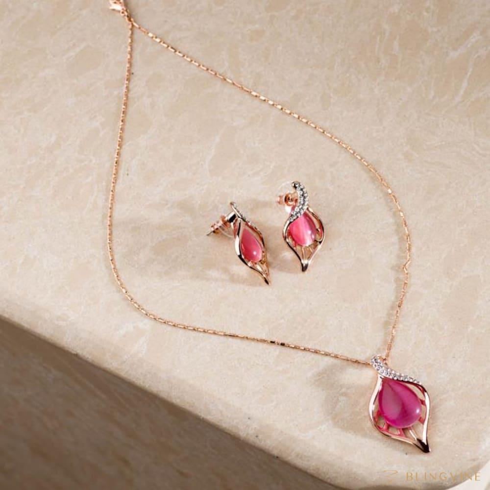 Isabella Pendant Necklace Set