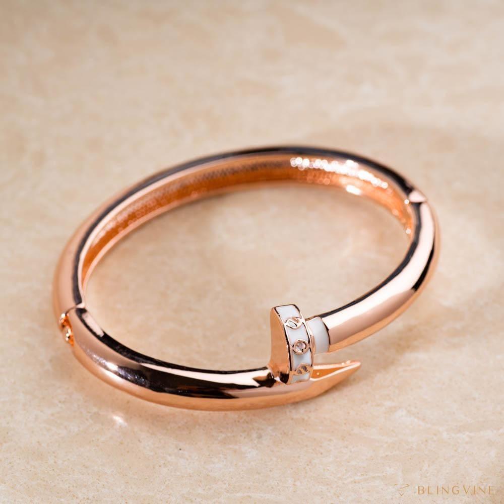 Naomi Open Bangle Bracelet - Blingvine