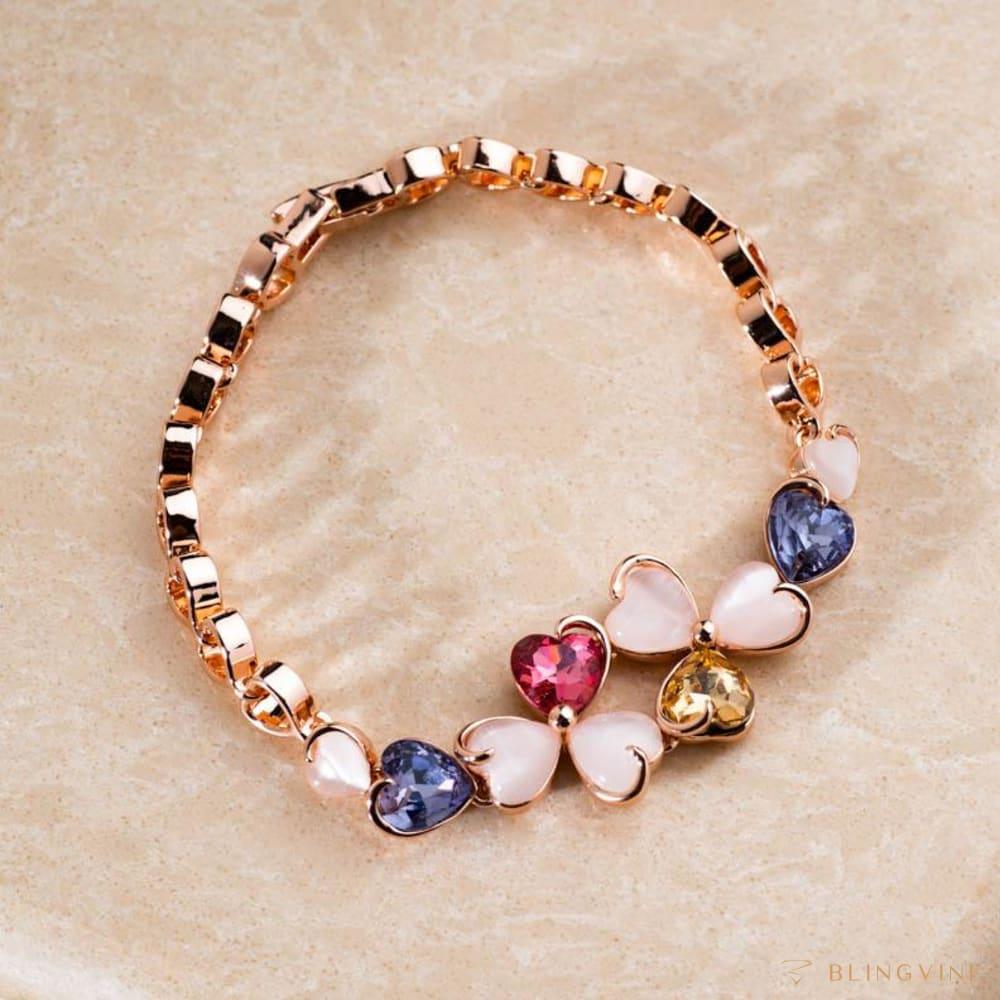 Vaani Multicolor Stone Bracelet - Blingvine
