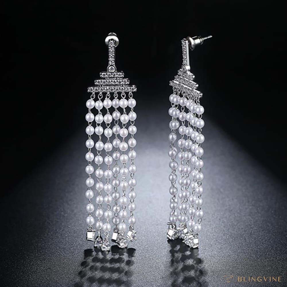 Niagara Tassel Earrings - BlingVine