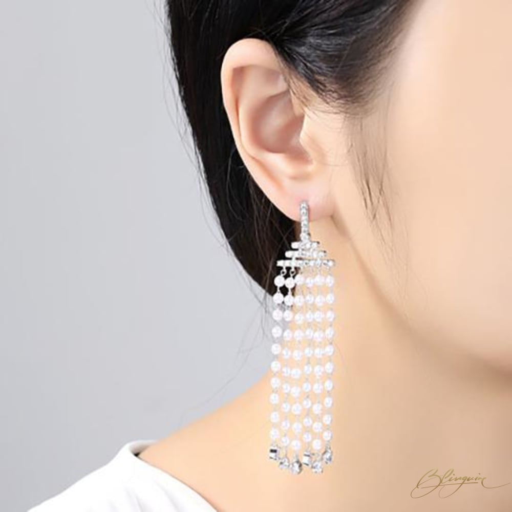 Niagara Tassel Earrings - BlingVine