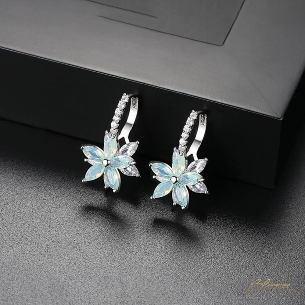 Celine Floral Earrings - BlingVine