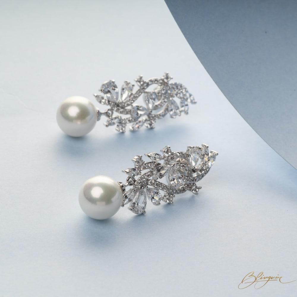 Kyrrah Pearl Earrings - BlingVine