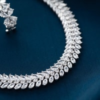 Hollywood Crystal Choker set - BlingVine
