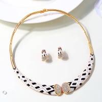 Ivory Necklace Set - BlingVine