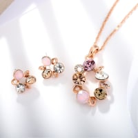 Pink Rush Pendant Set