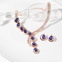 Eternity Necklace Set - BlingVine