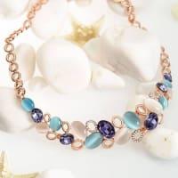 Symphony of Colors Necklace Set - BlingVine