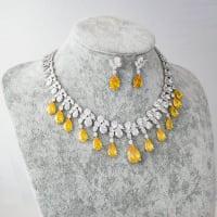 Amber Necklace Set - BlingVine