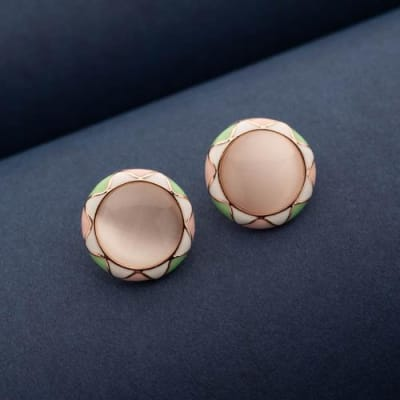 Avin Stud Earrings - Blingvine Jewellery