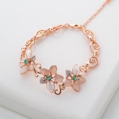 Eva Floral Bracelet