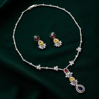 Maisha Crystal Necklace Set